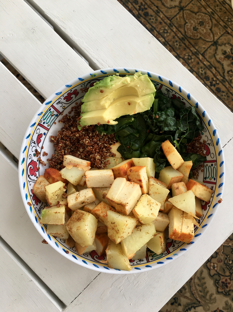 My 5 favorite vegan lunches
